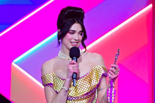 Dua Lipa uses Brit Awards acceptance speech to call for NHS pay rise