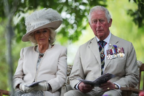Charles and Camilla visit Coventry Cathedral during City of Culture celebrations