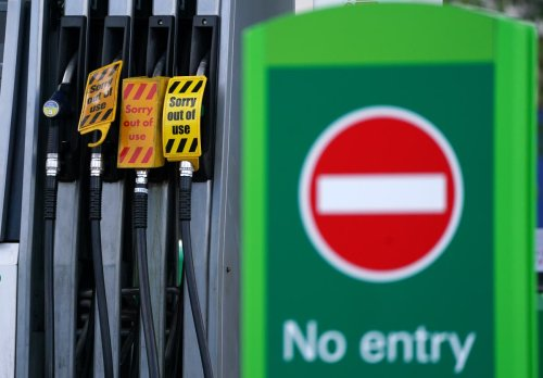 Army tanker drivers to be put on standby amid fuel supply issues