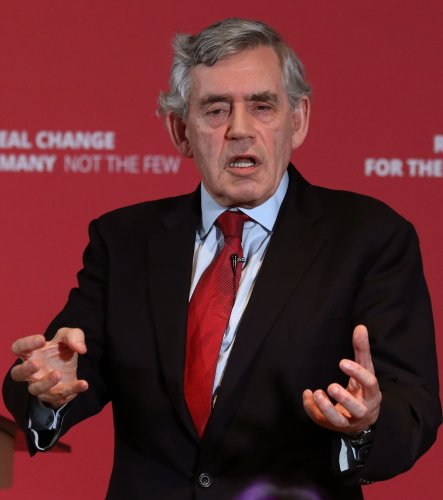 Former PM Brown says he's 'not afraid' of independence referendum