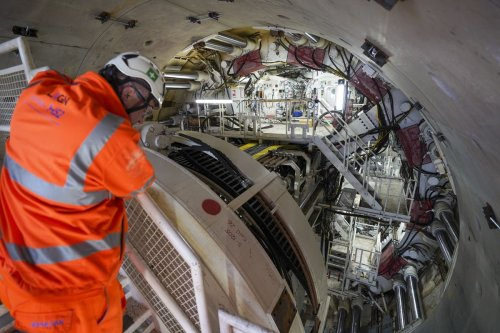 HS2 boss hopes UK 'gets behind' project after launch of huge tunnelling machine