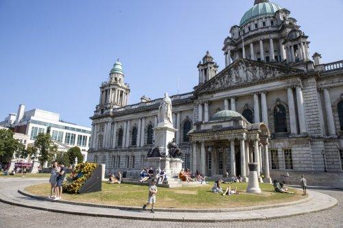 Plan to light up Belfast City Hall for NI centenary blocked by Sinn Fein