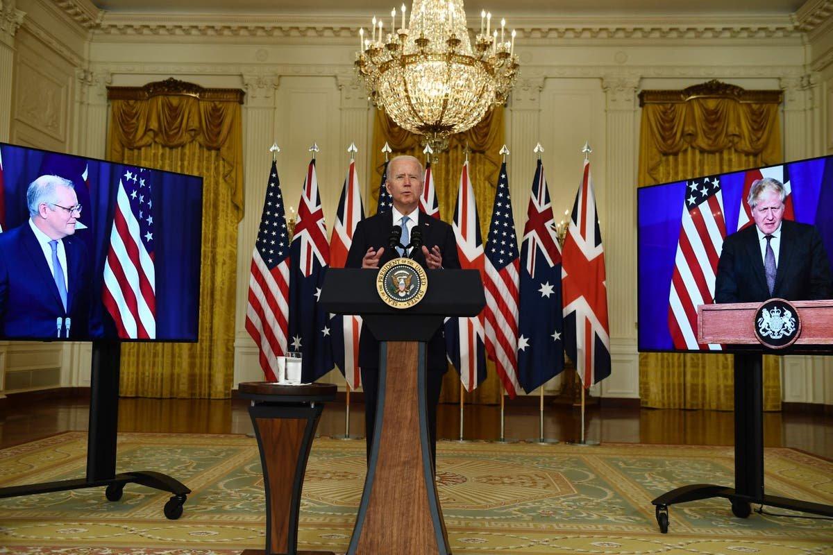 Nuclear sub deal sparks huge global row as France slams UK and US