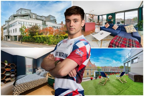 Tom Daley's former bachelor pad in Southwark on sale for £1m