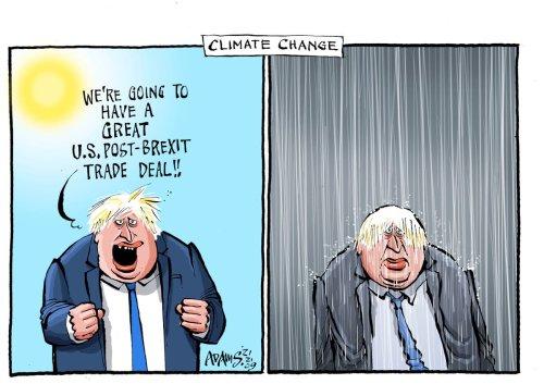 Evening Standard Comment: Boris's White House climate challenge