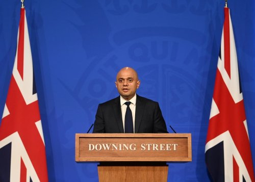 Sajid Javid warns Covid cases could rise to 100,000 daily in briefing