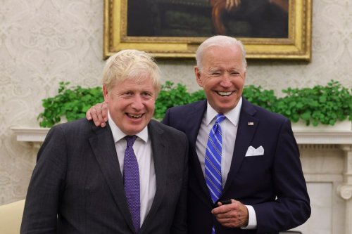 All smiles...but Boris admits defeat on trade deal after Biden talks