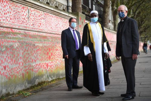 Covid Memorial Wall should become permanent if the public wants – Archbishop