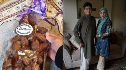 Family surprised by presents from non-Muslim neighbour to celebrate Eid