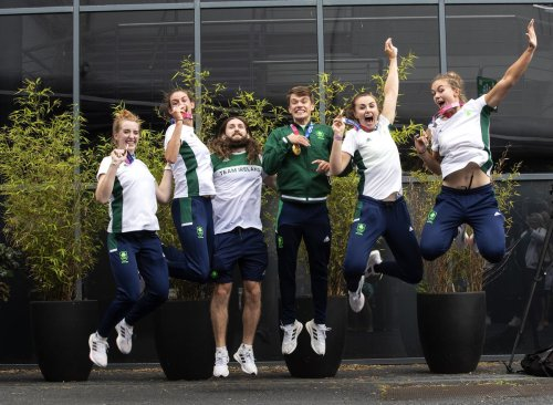 Ireland's medal heroes return home from Tokyo