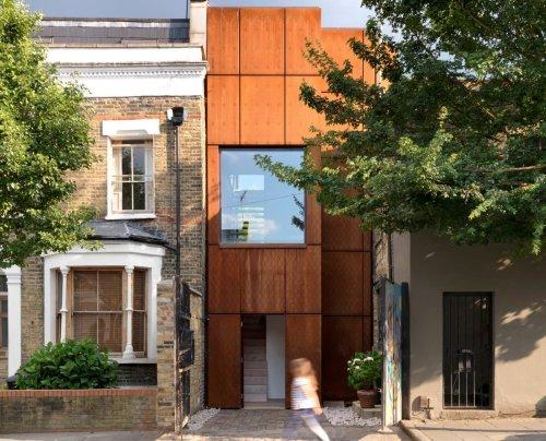 As wide as a Tube carriage: inside London's Tardis-like skinny houses