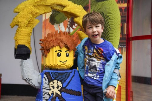 Disabled boy 'told to walk' at Legoland returns to park after policy change