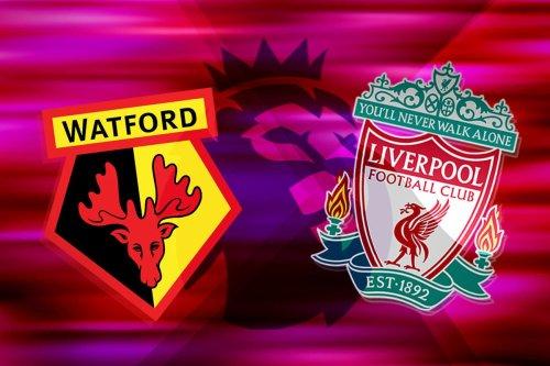 Watford 0-5 Liverpool: Premier League - LIVE!