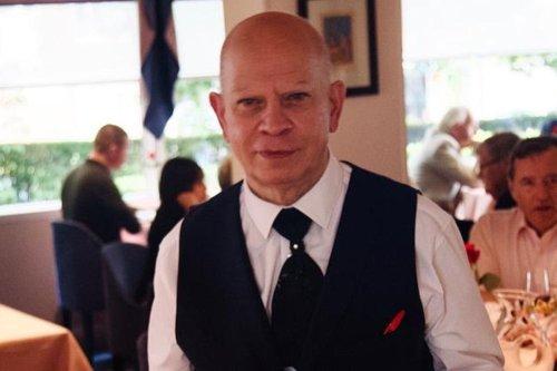 Meet the best waiter in Britain
