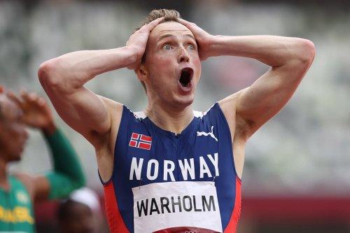 Warholm smashes world record to win incredible 400m hurdles gold