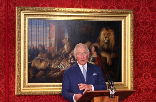 Charles moved to tears by young man helped by Prince's Trust