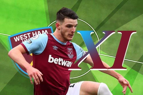 How we expect West Ham to line-up against Brighton