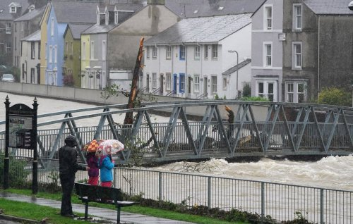 In Pictures: Rivers in full spate as Cumbria sees rising water levels