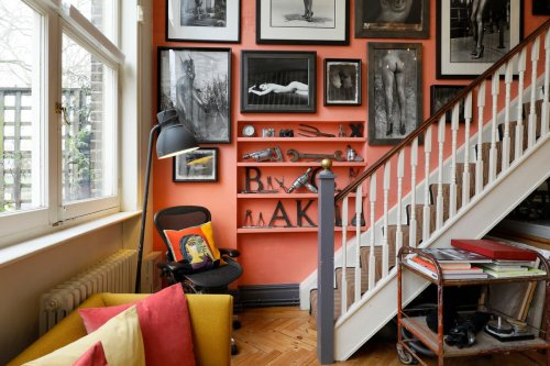 A renowned photographer's life's work fills this private studio for sale