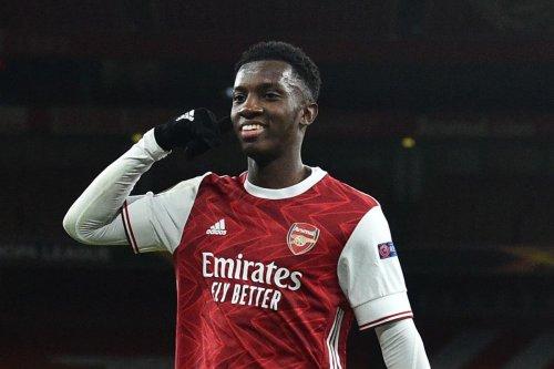 West Ham offered Nketiah transfer hope after Arsenal seal Balogun deal