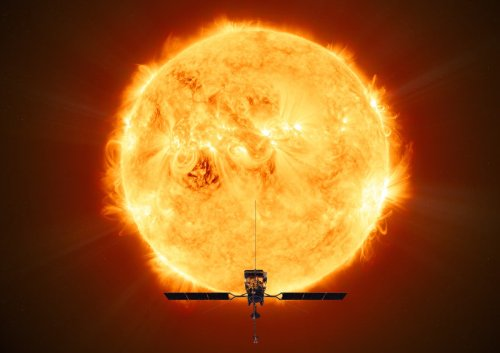 Solar Orbiter records first footage of powerful eruptions on the sun