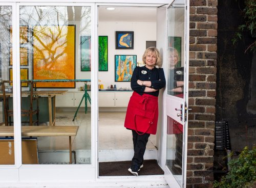 Inside the London riverside homes that can only be bought by artists