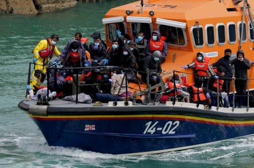 More than 200 migrants attempt Channel crossing as clampdown announced