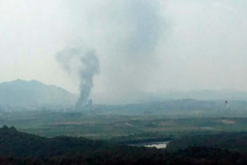 North Korea blows up inter-Korean liaison office as tensions rise