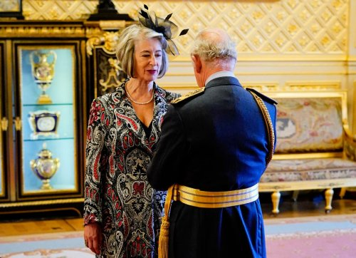 Maureen Lipman becomes a Dame as Prince Charles awards her the honour