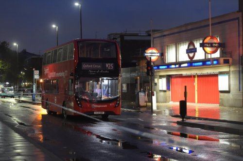 Triple stabbing on London night bus leaves man in critical condition