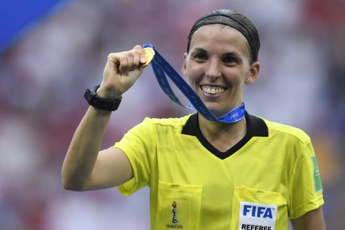 Frappart named as first woman to officiate at men's Euros
