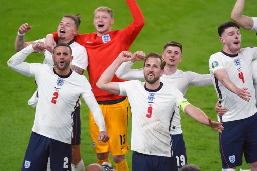 Hopes of a nation rest with England footballers for Euros final clash