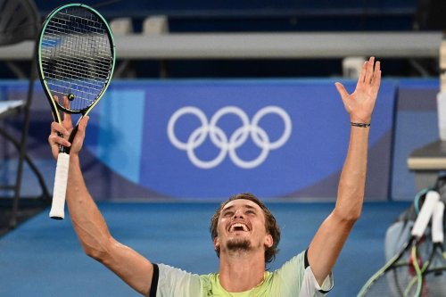 Zverev becomes first German man to win tennis singles gold medal