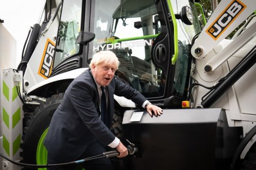 JCB unveils hydrogen-powered equipment prototypes at event with Prime Minister