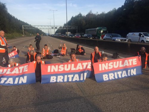 Who are Insulate Britain and why do they keep stopping M25 traffic?