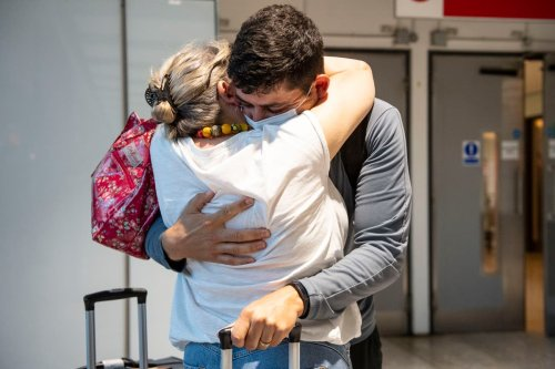 'I can't hold in my excitement': Families reunited as border opens