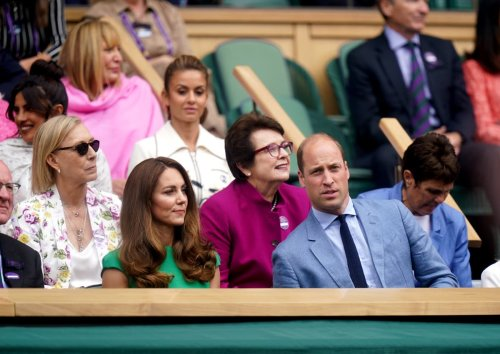 Kate and William attend star-studded women's final at Wimbledon
