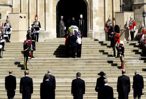 Royals 'have never appeared quite so emotional than at Philip's funeral'