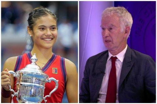 McEnroe defends Raducanu Wimbledon comments after US Open triumph