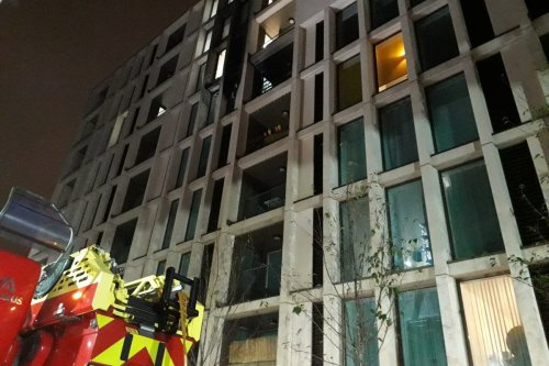 Two hospitalised after flat fire in Stratford