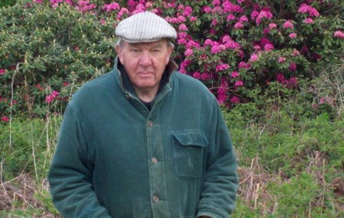 Pensioner was strangled in his village home during burglary, court told