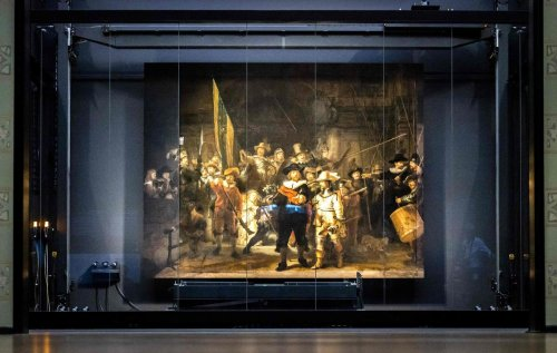 One of the world's most famous Rembrandt paintings restored by AI