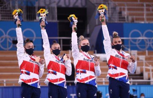 Sensational GB women win first gymnastics team medal since 1928