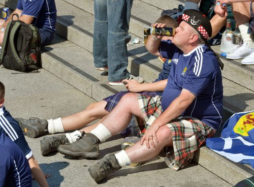 Don't travel to London without match ticket, Scotland fans told