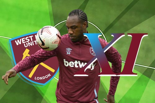 How West Ham are predicted to line-up against Everton