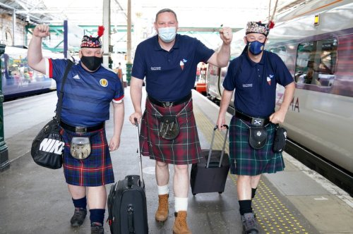 Euro 2020: London prepares for showdown as Scots pile in