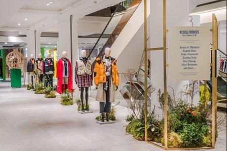 RESELLFRIDGES: Selfridges opens pre-loved outdoor clothing pop-up