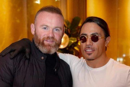 Wayne Rooney treats four sons to Salt Bae's £630 steak