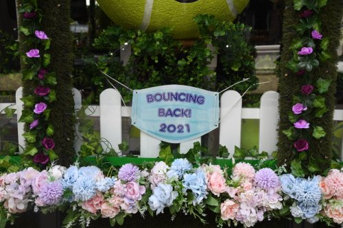 Wimbledon springs back to life for return of tennis fans