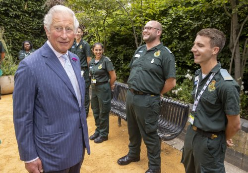 Charles hits out at 'unacceptable' rise in attacks on frontline NHS staff